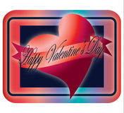 Happy Valentine's Day Heart Royalty Free Stock Images