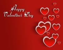 Happy Valentine`s Day heart love . Royalty Free Stock Photos