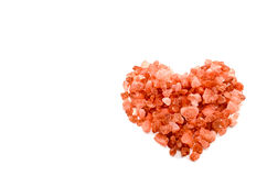 Happy Valentine's Day. A heart of red cristal for my Valentine Royalty Free Stock Photography