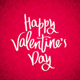 Happy Valentine`s day. Holiday card Royalty Free Stock Image