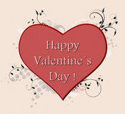 Happy Valentine's Day ! Royalty Free Stock Images