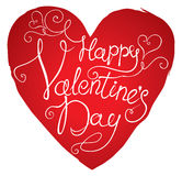 Happy Valentine's Day. Royalty Free Stock Photography