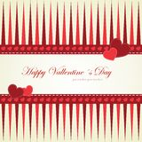 Happy Valentine's Day lettering Greeting Card Royalty Free Stock Photo
