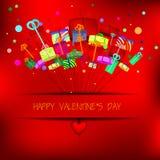 Happy valentine's day  Stock Image