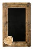 Happy Valentine's Day Love Chalkboard Restaurant Menu Board Recl Royalty Free Stock Image