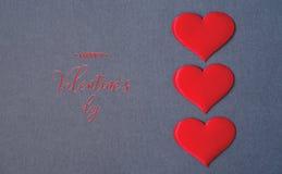 Valentine`s Day postcard royalty free stock photos