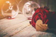 Happy Valentine`s Day. Love. Happy Valentine`s Day. Selective focus Stock Photography