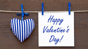 Happy Valentine's Day ! Royalty Free Stock Image