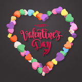 Happy Valentine`s Day. Royalty Free Stock Images