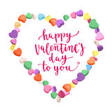 Happy Valentine`s Day. Royalty Free Stock Photo