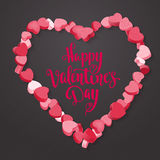 Happy Valentine`s Day. Royalty Free Stock Photography