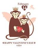 Happy Valentine's day! Royalty Free Stock Photo