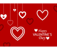 Happy valentine´s day royalty free stock photography
