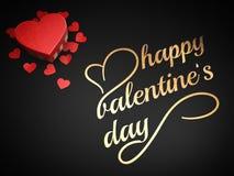Happy valentine`s day Royalty Free Stock Photo