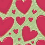 Happy Valentine's day seamless pattern Stock Photos