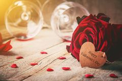 Happy Valentine`s Day. Love. Royalty Free Stock Photo