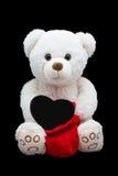 Happy Valentine's Day. Soft toy stock photos
