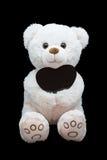 Happy Valentine's Day. Soft toy royalty free stock photo