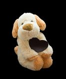Happy Valentine's Day. Soft toy Stock Images