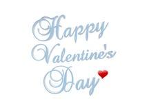 Happy Valentine's day. Symbol isolated on white background Royalty Free Stock Photo