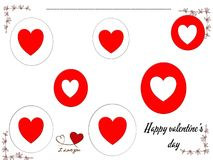 Happy valentine's day, symbol. Photo of abstract image, happy valentine's day symbol, to beautify a website. Enriched your website professionally with this Stock Images