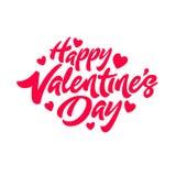 Happy Valentine`s Day stock illustration