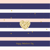 Happy Valentine's Day Vector Design Royalty Free Stock Photo