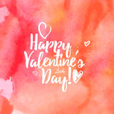 Happy Valentine's day Stock Image