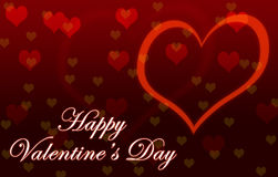 Happy Valentine's Day Wallpaper Stock Images