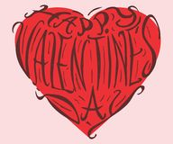 Happy Valentine`s day Royalty Free Stock Images
