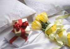Happy Valentine's morning Royalty Free Stock Photo