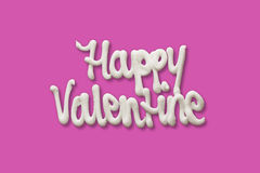 Happy valentine Stock Photography