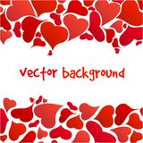 Happy valentines background Stock Image