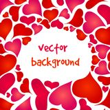 Happy valentines background Royalty Free Stock Photos