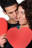 Happy Valentines day Stock Photography