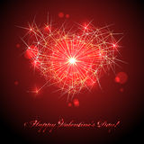 Happy valentines day. Royalty Free Stock Photography