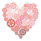 Happy Valentines Day. An abstract illustration on valentines day Stock Photos