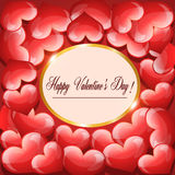 Happy Valentines Day Background Royalty Free Stock Photos