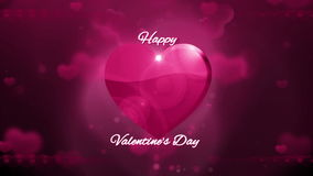 Happy valentines day background. HD 1080 stock video