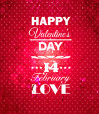 Happy Valentines Day background. Stock Images