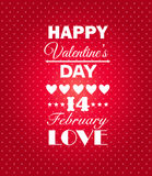 Happy Valentines Day background. Stock Photos