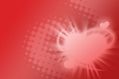 Happy valentines day background Stock Images