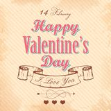 Happy Valentines Day Background Royalty Free Stock Photo