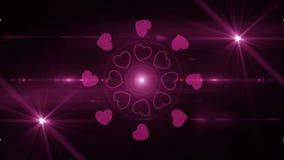 Happy valentines day background 4K. Backgorund Happy valentines day 4K stock video footage
