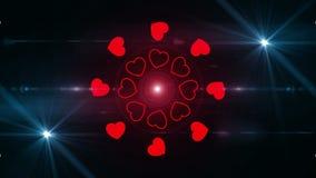 Happy valentines day background 4K. Backgorund Happy valentines day 4K stock footage