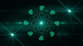 Happy valentines day background 4K. Backgorund Happy valentines day 4K stock video