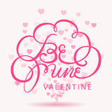Happy valentines day bokeh background Royalty Free Stock Images