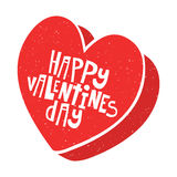 Happy Valentines Day candy box vector illustration Royalty Free Stock Photography