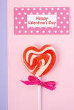 Happy Valentines Day Candy Stock Image