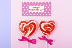 Happy Valentines Day Candy Royalty Free Stock Image